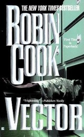 Vector by Robin Cook - Paperback Espionage Thriller