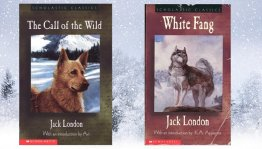 Call of the Wild and White Fang - Two (2) Volumes by Jack London - Paperback Scholastic Edition USED