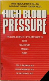High Blood Pressure by 3 Doctors - Mass Market Paperback USED Like New