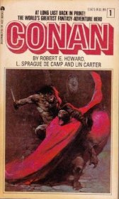 Conan by Robert E. Howard,‎ L. Sprague De Camp,‎ and Lin Carter - Paperback RARE Classics