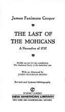 The Last of the Mohicans by James Fenimore Cooper - Paperback USED Classics