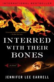 Interred with Their Bones by Jennifer Lee Carrell - Paperback Fiction