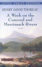 A Week on the Concord and Merrimack Rivers by Henry David Thoreau - Paperback USED