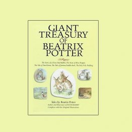 Giant Treasury of Beatrix Potter - Hardcover Illustrated
