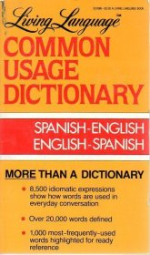 Living Language Common Usage Spanish-English Dictionary - Paperback