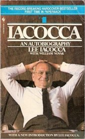 Iacocca : An Autobiography by Lee Iacocca - Paperback USED