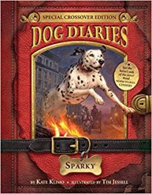 Dog Diaries #9 : Sparky by Kate Klimo - Paperback Special Crossover Edition
