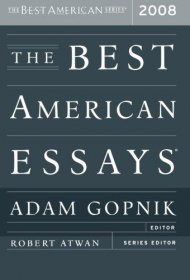 The Best American Essays 2008 - Paperback