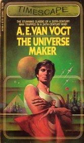 The Universe Maker by A.E.Van Vogt - Paperback USED Sci Fi RARE 1981
