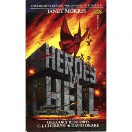 Heroes in Hell by Janet Morris, editor - Paperback USED Mythology