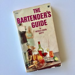 The Bartender's Guide by Patrick Gavin Duffy - USED Paperback