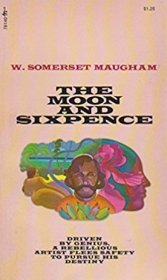 The Moon and Sixpence by W. Somerset Maugham - Paperback USED Classics