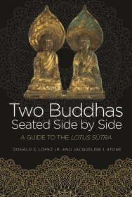 Two Buddhas Seated Side by Side : A Guide to the Lotus Sūtra by Donald S. Lopez, Jr. and Jacqueline I. Stone - Hardcover