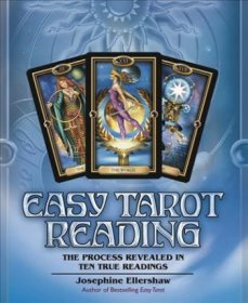 Easy Tarot Reading by Josephine Ellershaw - Paperback Divination Manual