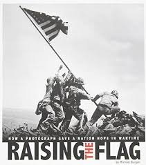 Raising the Flag (Iwo Jima) by Michael Burgan - Paperback Photo Book
