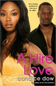 A Hire Love by Candice Dow - Paperback Romance