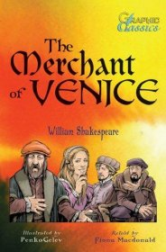 The Merchant of Venice by William Shakespeare - Paperback Graphic Novel