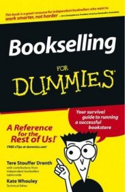 Bookselling for Dummies by Tere Stouffer Drenth - Paperback USED