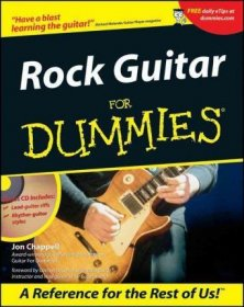 Rock Guitar for Dummies by Jon Chappell - Paperback