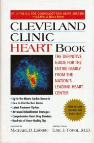 Cleveland Clinic Heart Book - Hardcover Cardiac Health