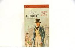 Pere Goriot by Honore de Balzac - Paperback Airmont Classics Edition