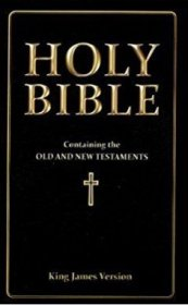Holy Bible - King James Version - Paperback