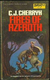 Fires of Azeroth by C. J. Cherryh - USED Paperback