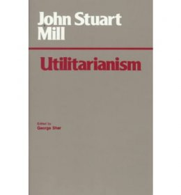 Utilitarianism by John Stuart Mill - Paperback edited by George Sher USED