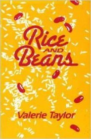 Rice and Beans by Valerie Taylor - USED Paperback