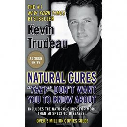 "Natural Cures ""They"" Don't Want You to Know About by Kevin Trudeau - USED Paperback"