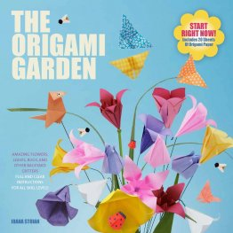 The Origami Garden by Ioana Stoian - Paperback Illustrated