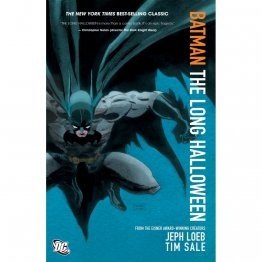 Batman: The Long Halloween by Jeph Loeb and Tim Sale - Paperback Graphic Novel