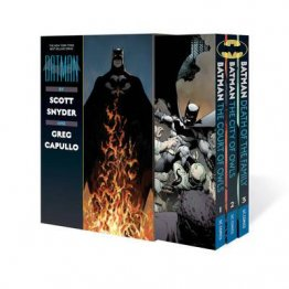 Batman by Scott Snyder & Greg Capullo Box Set - Softcover Graphic Novels