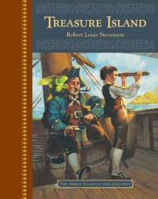 Treasure Island by Robert Louis Stevenson - Great Classics for Children - Hardcover Illustrated