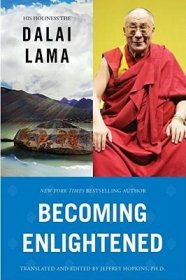 Becoming Enlightened by H.H. the Dalai Lama - Hardcover USED Like New