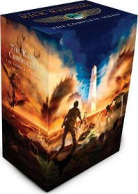 The Kane Chronicles : The Complete Series by Rick Riordan and John Rocco, Illustrator) - Paperback Box Set