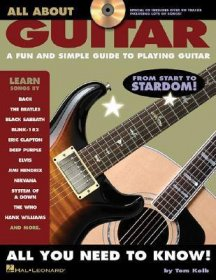 All About Guitar by Tom Kolb - Paperback USED Hal Leonard Manual