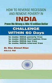 How to Reverse Recession and Remove Poverty in India by Dr. Niaz Ahmed Khan - Paperback