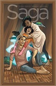 Saga Volume 9 by Brian K. Vaughan & Fiona Staples - Paperback Graphic Novel