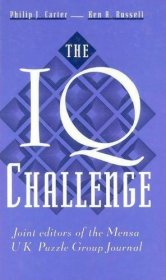 The IQ Challenge - Hardcover IQ Test