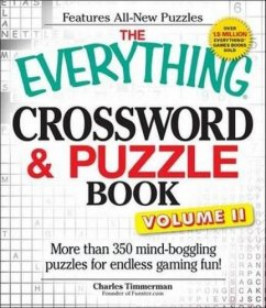 The Everything Crossword & Puzzle Book Volume II