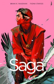 Saga Volume 2 by Brian K. Vaughan & Fiona Staples - Paperback Graphic Novel