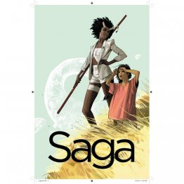 Saga Volume 3 by Brian K. Vaughan & Fiona Staples - Paperback Graphic Novel