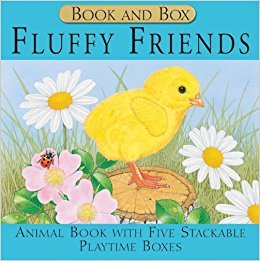 Fluffy Friends - Books & Stacking Boxes - Playtime Gift Set