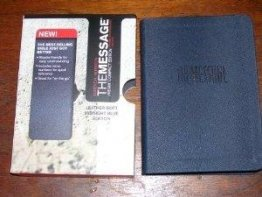 The Message Bible //Remix Compact Edition - Imitation Leather Cover