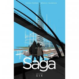 Saga Volume 6 by Brian K. Vaughan & Fiona Staples - Paperback Graphic Novel