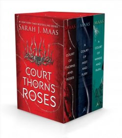 A Court of Thorns and Roses Box Set by Sarah J. Maas - Hardcover Books