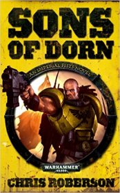 Sons of Dorn by Chris Roberson - Paperback USED Warhammer 40,000 Fiction