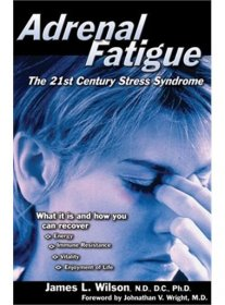 Adrenal Fatigue : The 21st Century Stress Syndrome by James L. Wilson - Paperback