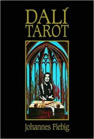 The Dali Tarot : Softcover Art Book by Johannes Fiebig USED Rare